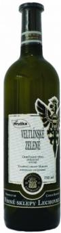 Víno veltlínské zelené Hruška Vinné sklepy Lechovice