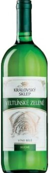 Víno Veltlínské zelené Královský sklep