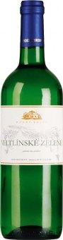 Víno Veltlínské zelené Modrý sklep Šaldorf