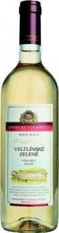 Víno Veltlínské zelené Original Classic Zámecké vinařství Bzenec