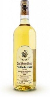 Víno Veltlínské zelené Sedlecká vína - pozdní sběr