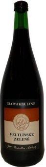 Víno Veltlínské zelené Slovakia Line JM Vinařství Dolany