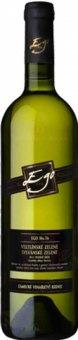 Víno Veltlínské zelené - Sylvánské zelené Cuvée EGO Zámecké vinařství Bzenec