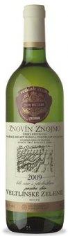 Víno Veltlínské zelené Terroir Club Znovín Znojmo - pozdní sběr