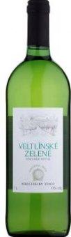 Víno Veltlínské zelené Tesco