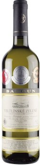 Víno Veltlínské zelené Vinařství Baloun - pozdní sběr