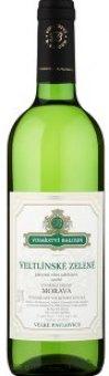 Víno Veltlínské zelené Vinařství Baloun