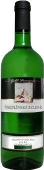 Víno Veltlínské zelené Vinařství Blatel