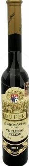 Víno Veltlínské zelené Vinařství Dufek - slámové