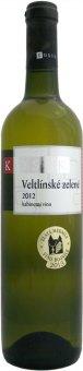 Víno Veltlínské zelené Vinařství Kosík - kabinetní
