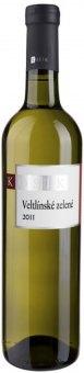 Víno Veltlínské zelené Vinařství Kosík - zemské