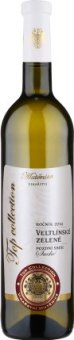 Víno Veltlínské zelené Top Collection Vinařství Mutěnice - pozdní sběr