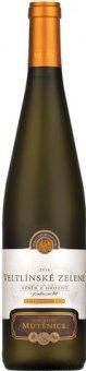 Víno Veltlínské zelené Vinařství Mutěnice - výběr z hroznů