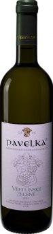 Víno Veltlínské zelené Vinařství Pavelka a syn - pozdní sběr