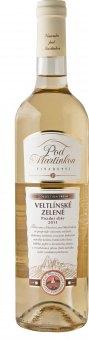 Víno Veltlínské zelené Vinařství Pod Martinkou - pozdní sběr