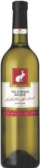 Víno Veltlínské zelené Vinařství Zaječí