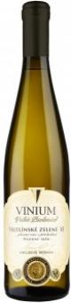 Víno Veltlínské zelené Vinium Velké Pavlovice - pozdní sběr