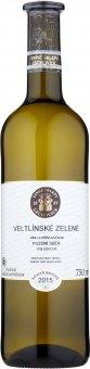 Víno Veltlínské zelené Vinné Sklepy Lechovice - pozdní sběr