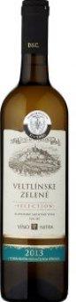 Víno Veltlínské zelené Víno Nitra Selection