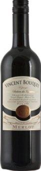 Víno Merlot IGP Pays D'Oc Vincent Bouquet