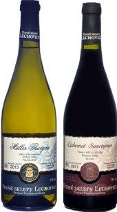 Víno Vinné sklepy Lechovice - pozdní sběr