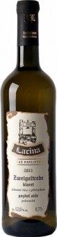 Víno Zweigeltrebe Klaret Vinařství Lacina - pozdní sběr