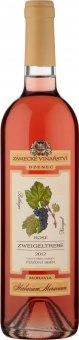 Víno Zweigeltrebe Rosé Herbarium Moravicum Zámecké vinařství Bzenec - pozdní sběr