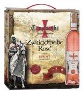 Víno Zweigeltrebe Rosé Templářské sklepy Čejkovice - bag in box