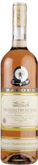 Víno Zweigeltrebe Rosé Vinařství Baloun - pozdní sběr
