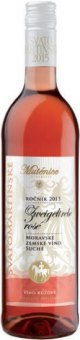 Víno Zweigeltrebe Rosé Vinařství Mutěnice - svatomartinské