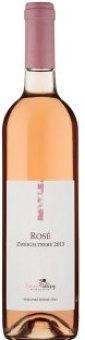 Víno Zweigeltrebe Rosé Vinné sklepy Velké Bílovice