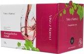 Víno Zweigeltrebe Rosé Víno z Kobylí - bag in box