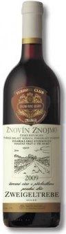 Víno Zweigeltrebe Terroir Club Znovín Znojmo - pozdní sběr