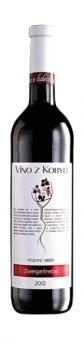 Víno Zweigeltrebe Víno z Kobylí - pozdní sběr