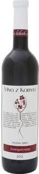 Víno Zweigeltrebe Víno z Kobylí