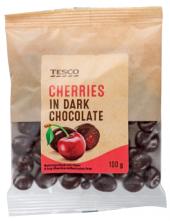 Višně v čokoládě Tesco