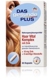 Doplněk stravy pro zdravé vlasy Das gesunde Plus