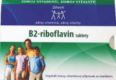 Vitamín B2- riboflavin Zdrovit