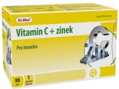Vitamín C + Zinek Dr.Max
