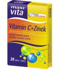 Vitamín C + Zinek MaxiVita