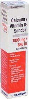 Vitamínové žvýkací tablety Calcium/Vitamin D3