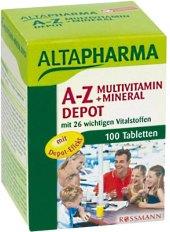 Vitamíny a minerály A-Z Altapharma