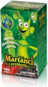 Vitamíny dětské Marťánci s prebiotiky Walmark