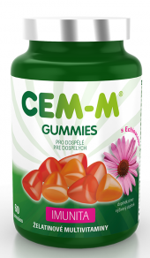 Vitamíny Gummies Imunita Cem-M