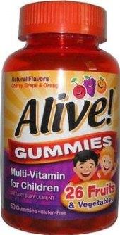 Vitamíny pro děti Gummies Alive!