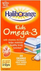 Vitamíny pro děti Omega 3 Haliborange Seven Seas