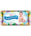 Vlhčené ubrousky dětské Baby Superfresh