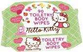 Vlhčené ubrousky  dětské Hello Kitty