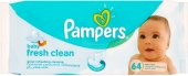 Vlhčené ubrousky dětské Pampers Baby Fresh Clean