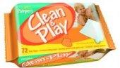 Vlhčené ubrousky dětské Pampers Clean & Play
